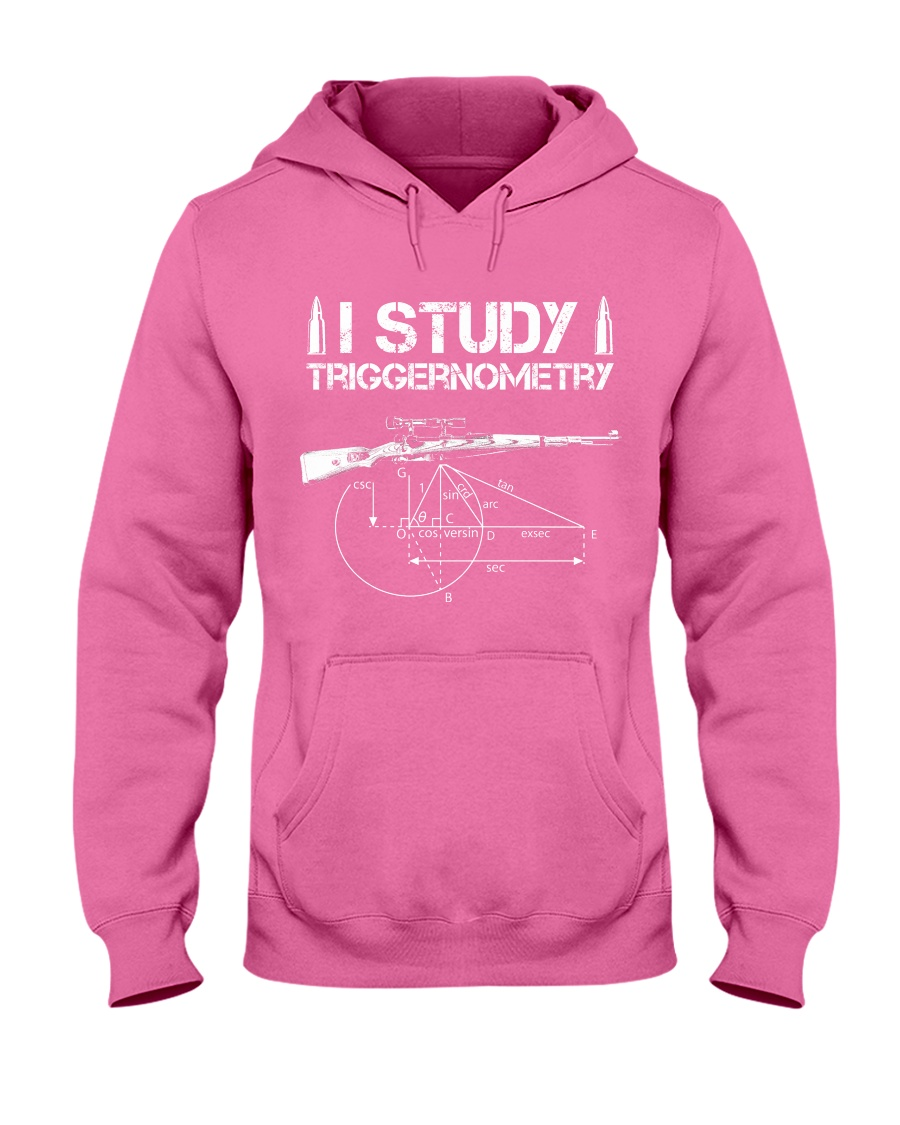 I STUDY TRIGGERNOMETRY Hooded Sweatshirt