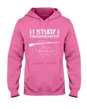 I STUDY TRIGGERNOMETRY Hooded Sweatshirt front