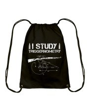 I STUDY TRIGGERNOMETRY Drawstring Bag tile
