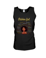 OCTOBER GIRL Unisex Tank thumbnail