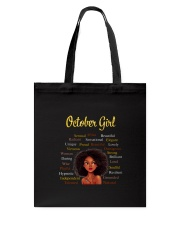 OCTOBER GIRL Tote Bag thumbnail