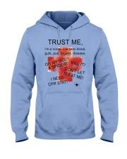 TRUST THIS NURSE Hooded Sweatshirt front