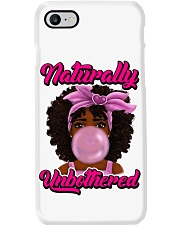 NATURALLY UNBOTHERED Phone Case thumbnail