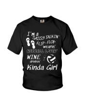 I'M A NETBALL LOVING KINDA GIRL Youth T-Shirt thumbnail