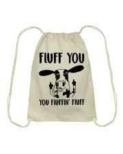 FLUFF YOU Drawstring Bag thumbnail