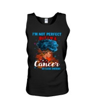 CANCER CLOSE ENOUGH TO PERFECT Unisex Tank thumbnail