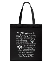 THIS NURSE IS ME Tote Bag thumbnail