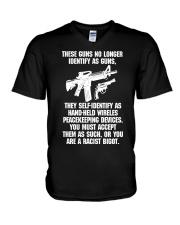 GUN V-Neck T-Shirt thumbnail
