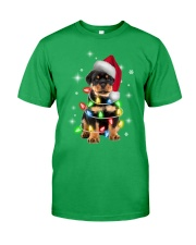 ROTTIE CHRISTMAS Classic T-Shirt front
