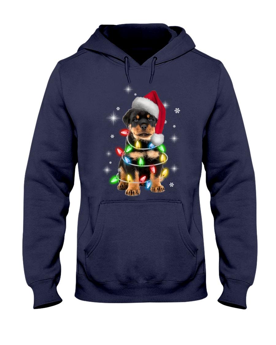 ROTTIE CHRISTMAS Hooded Sweatshirt