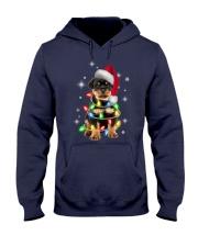 ROTTIE CHRISTMAS Hooded Sweatshirt front