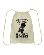 SHE'S BEAUTY - SHE'S GRACE Drawstring Bag thumbnail