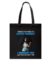 I IGNORED YOU Tote Bag thumbnail