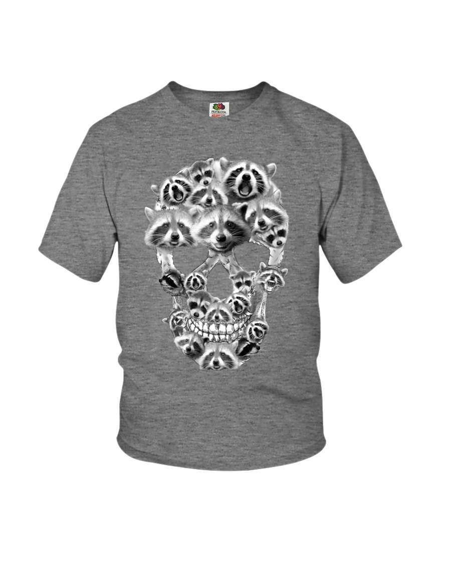 RACCOON SKLL Youth T-Shirt