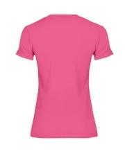 RACCOON SKLL Premium Fit Ladies Tee back
