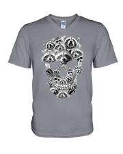 RACCOON SKLL V-Neck T-Shirt thumbnail