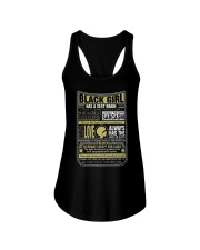 BLCK GIRL THING Ladies Flowy Tank thumbnail