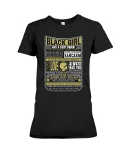 BLCK GIRL THING Premium Fit Ladies Tee thumbnail
