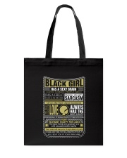 BLCK GIRL THING Tote Bag thumbnail