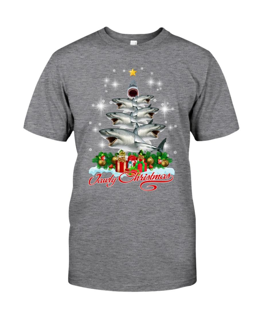 SHARK XMAS PINE Classic T-Shirt