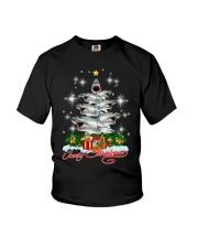 SHARK XMAS PINE Youth T-Shirt thumbnail