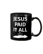 JESUS PAID IT ALL Mug thumbnail