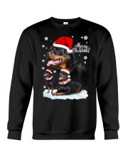 ROTTIE CHRISTMAS Crewneck Sweatshirt thumbnail
