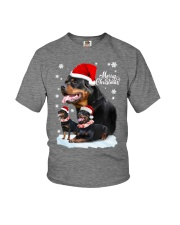 ROTTIE CHRISTMAS Youth T-Shirt front