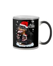 ROTTIE CHRISTMAS Color Changing Mug thumbnail