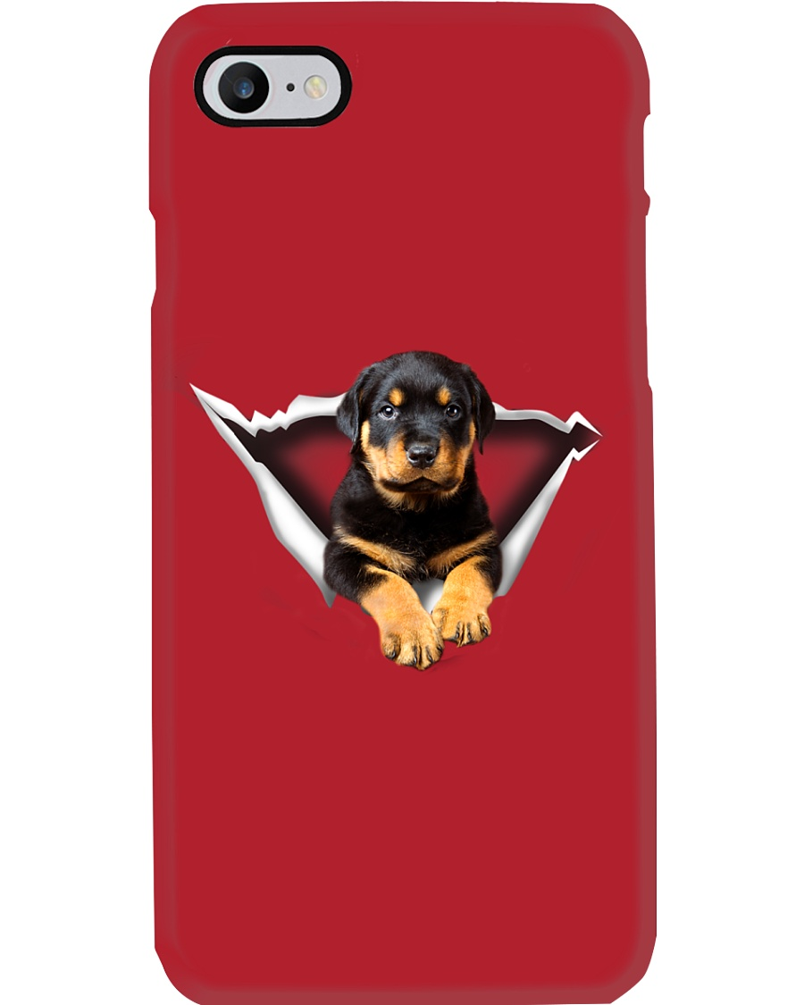 ROTTIES ON SHIRT Phone Case