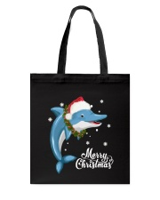DOLPHIN CHRISTMAS Tote Bag thumbnail
