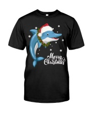 DOLPHIN CHRISTMAS Classic T-Shirt tile