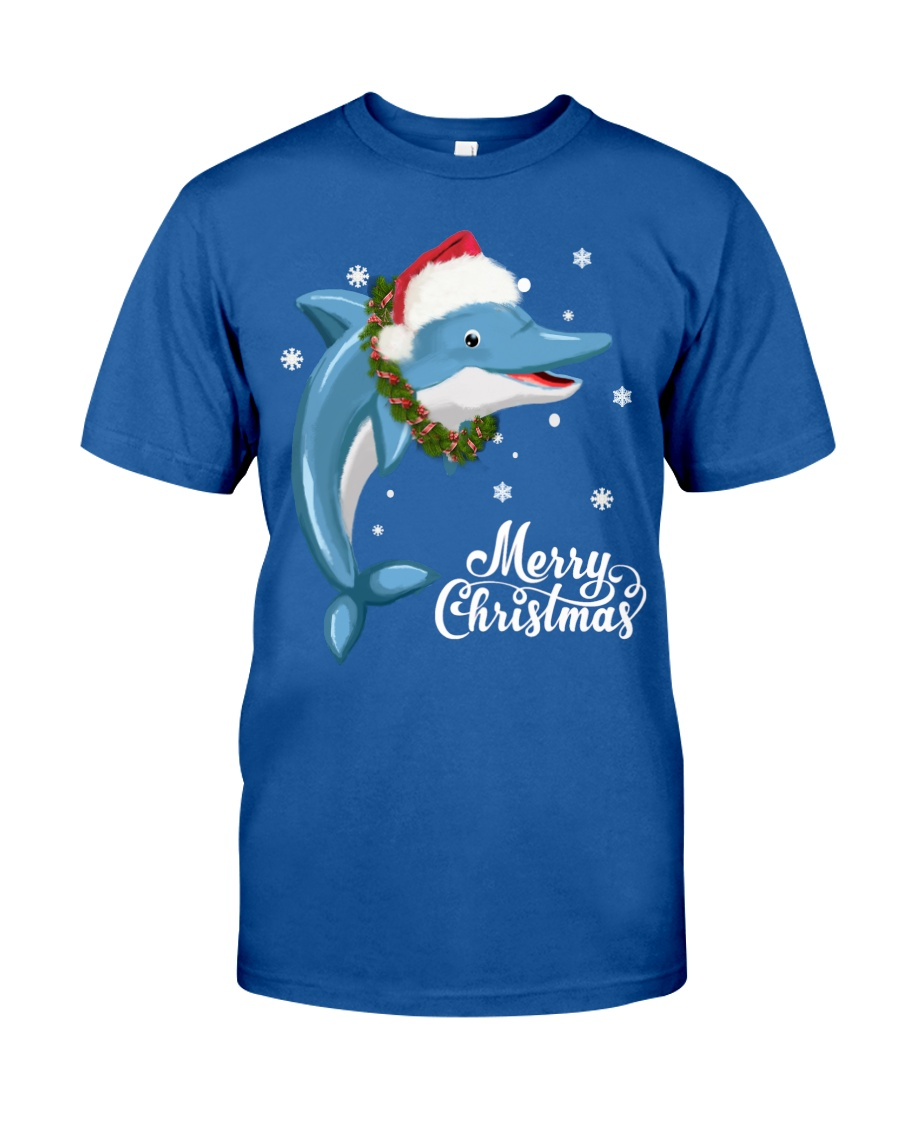 DOLPHIN CHRISTMAS Classic T-Shirt