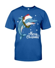 DOLPHIN CHRISTMAS Classic T-Shirt front