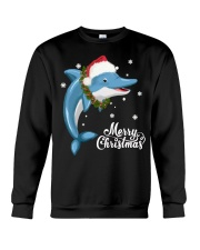 DOLPHIN CHRISTMAS Crewneck Sweatshirt thumbnail