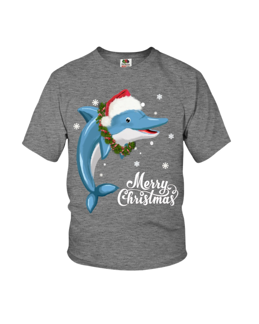 DOLPHIN CHRISTMAS Youth T-Shirt