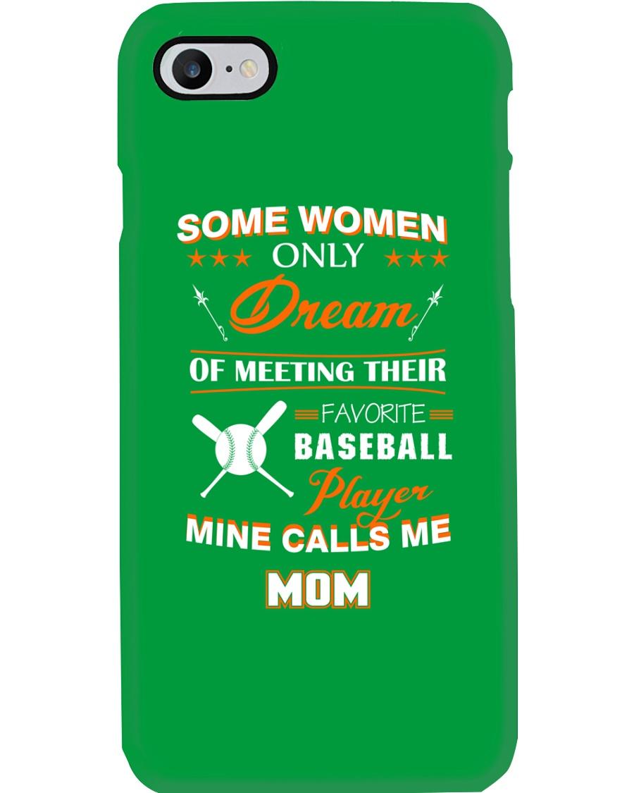 Mine call me mom baseball Phone Case