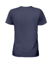 Mine call me mom baseball Ladies T-Shirt back