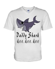 DADDY SHARK V-Neck T-Shirt thumbnail