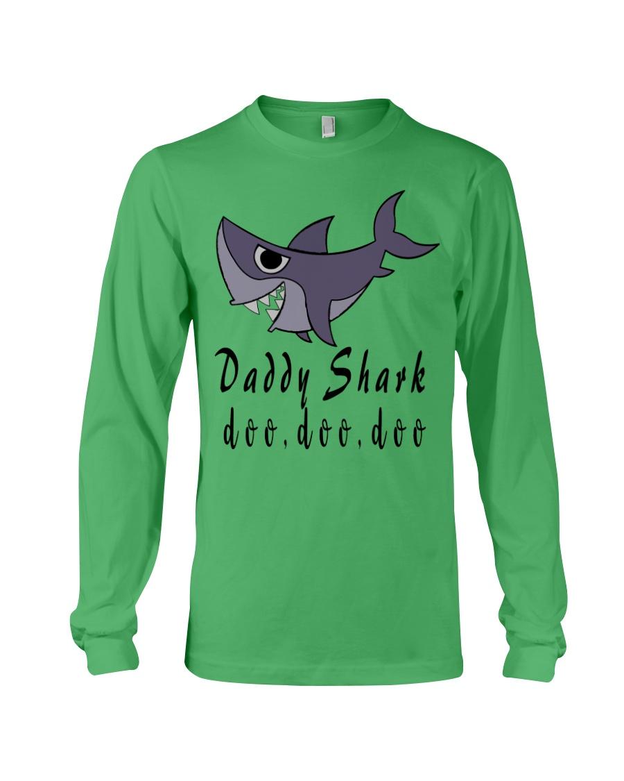 DADDY SHARK Long Sleeve Tee