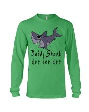 DADDY SHARK Long Sleeve Tee front