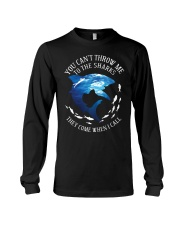 YOU CAN THROW ME Long Sleeve Tee thumbnail