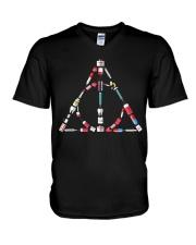 NURSING FUNNY V-Neck T-Shirt thumbnail