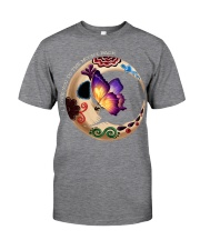 I LOVE BUTTERFLY TO THE MOON AND BACK Classic T-Shirt front