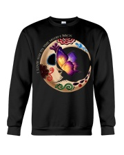 I LOVE BUTTERFLY TO THE MOON AND BACK Crewneck Sweatshirt thumbnail