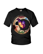 I LOVE BUTTERFLY TO THE MOON AND BACK Youth T-Shirt thumbnail