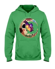 I LOVE BUTTERFLY TO THE MOON AND BACK Hooded Sweatshirt front