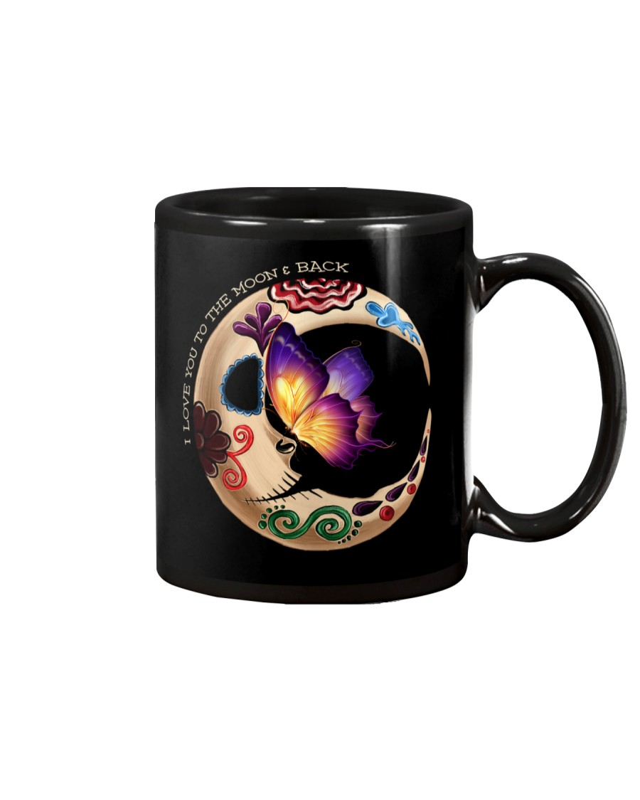 I LOVE BUTTERFLY TO THE MOON AND BACK Mug