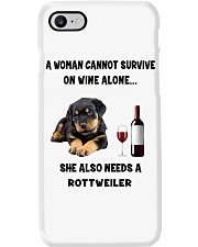 SHE ALSO NEEDS A ROTTWEILER Phone Case thumbnail