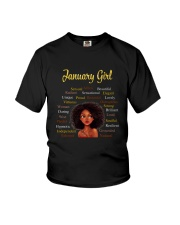 JANUARY GIRL Youth T-Shirt front
